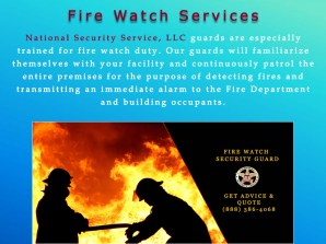 5 Fire Watch Services
