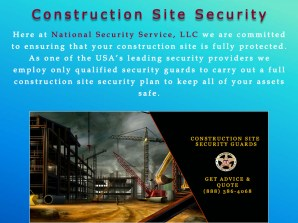 6 Construction Site Security