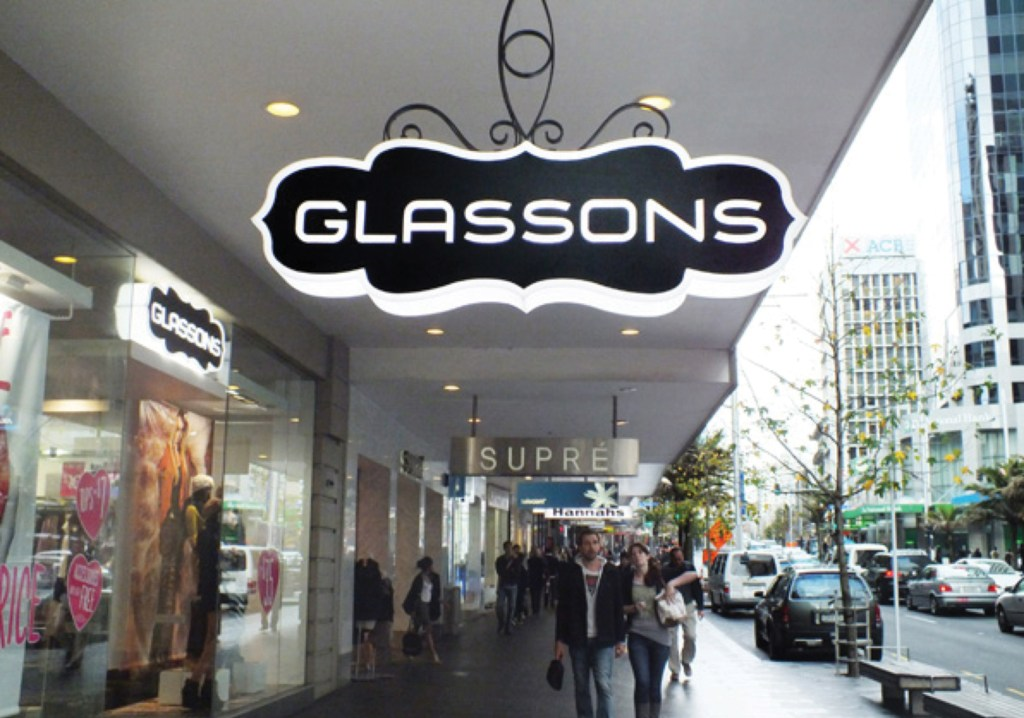 glassons fabricated lightbox routercut led illuminated