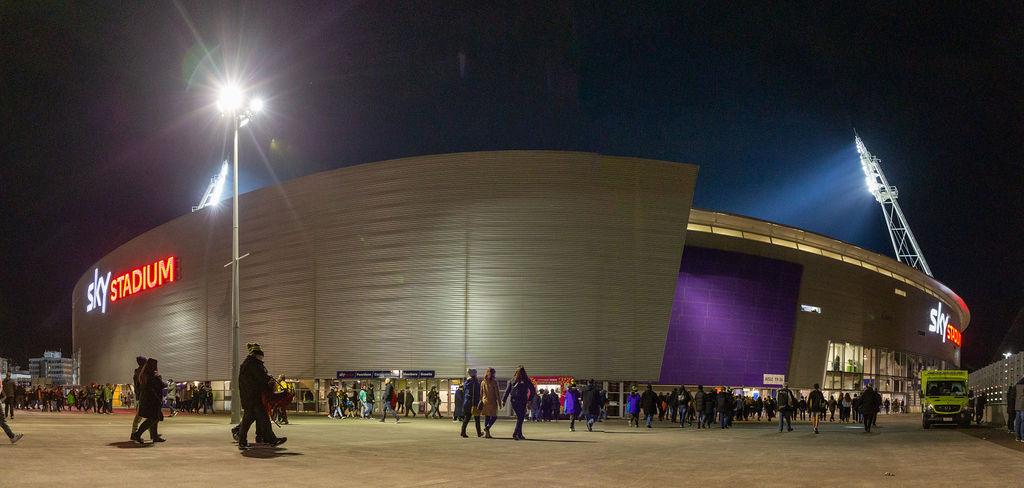 Sky Stadium 3D Lettering