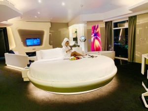 BBNaija: Mercy Hotel Upgraded To An Exquisite Suite Worth Millions In Dubai (Video)