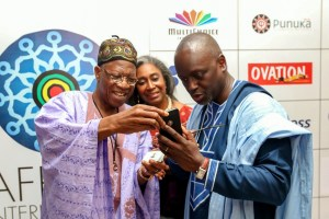 AFRIFF 2019: Lai Mohammed, Kate Henshaw, Others At Opening Party (Photos)