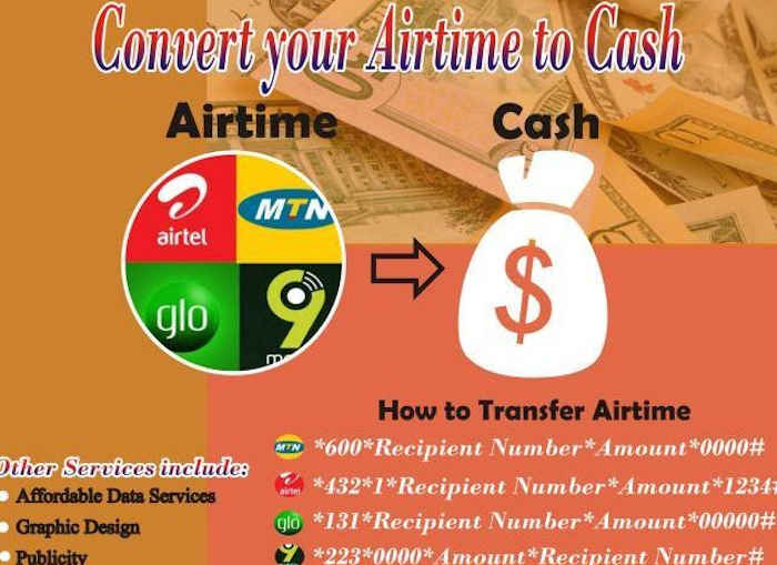Ways To Convert Airtime Recharge To Cash