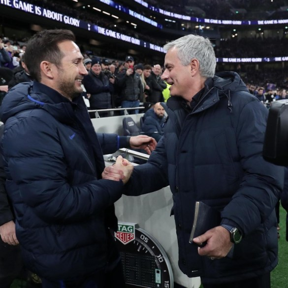 Jose Mourinho refuses to support Frank Lampard