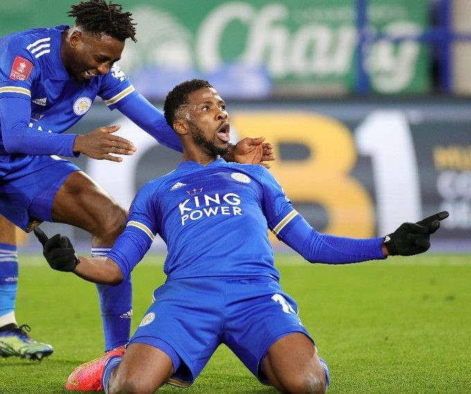 Kelechi Iheanacho reflects on his early struggles at Leicester City