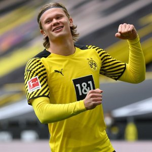 Erling Haaland is at the centre of a sponsor battle between puma and nike