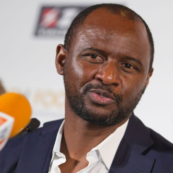 Patrick Vieira is set to become the next Crystal Palace manager