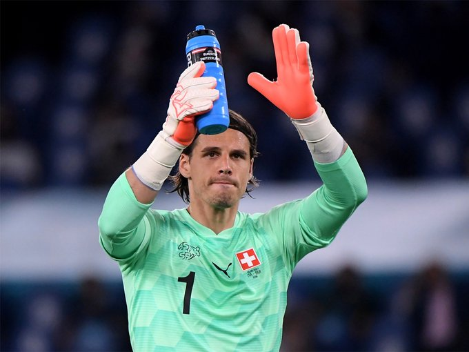 Switzerland keeper Yann Sommer is set to miss his country's huge Euro 2020 clash against Turkey