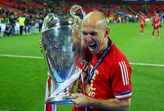 Arjen Robben retires from football for the second time at 37 after battling injuries