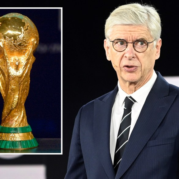Arsene Wenger officially launches masterplan for World Cup every two years