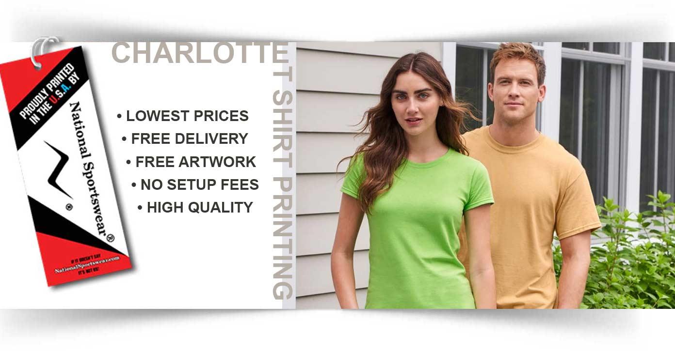 t-shirt printing in Charlotte