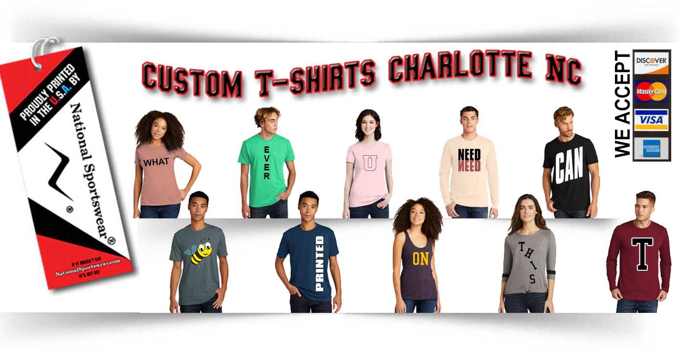 custom t-shirts charlotte nc