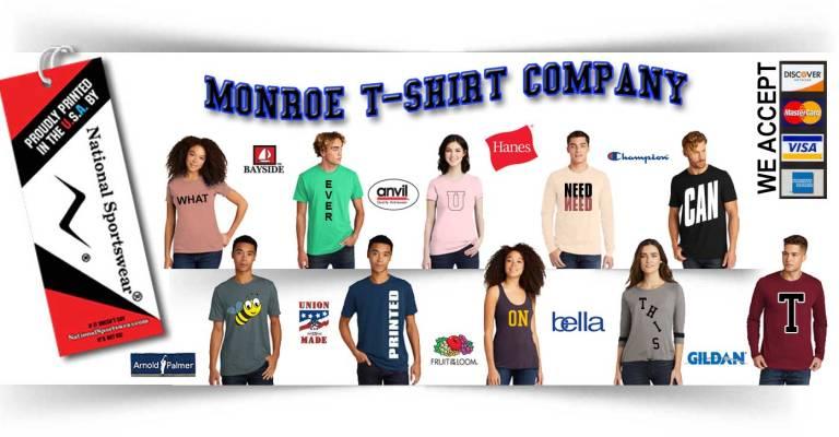 monroe t-shirt company