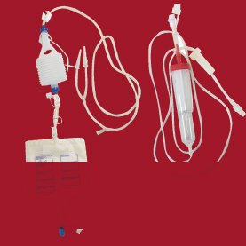 Privac-Reinfusion autotransfusion wound drainage systems
