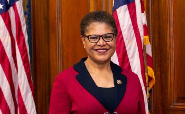 Us Congresswoman Karen Bass Sends Out Special Invitation