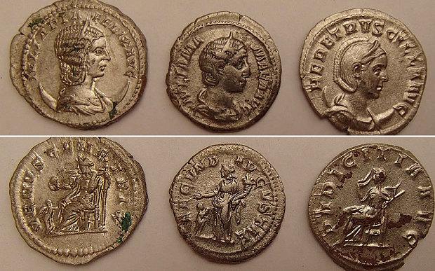 Roman Coins found