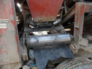 Workers arm crushed in crusher