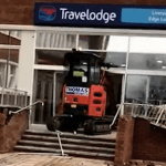 Digger driver jailed for 5 years
