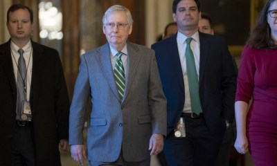 Trump impeachment: McConnell proposes swift trial with long days