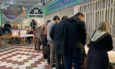 Polls close in Iranian parliamentary election