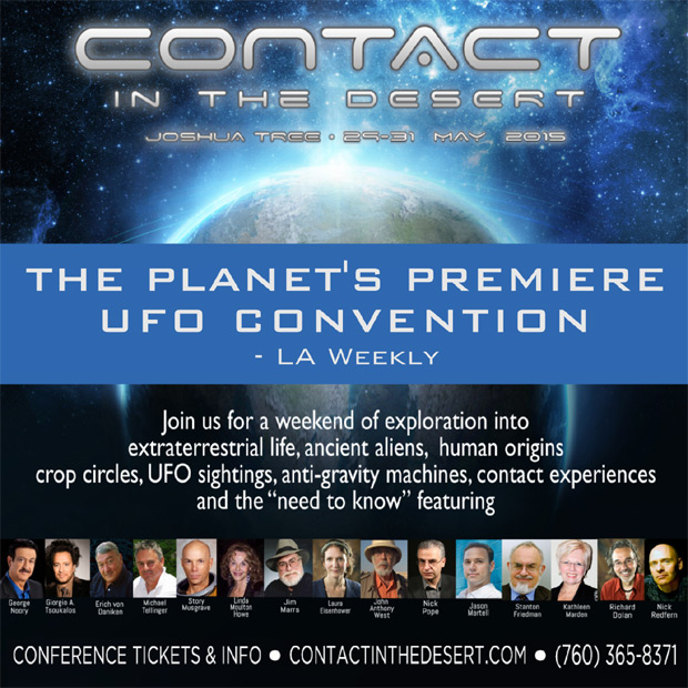 Contact in the Desert 2015