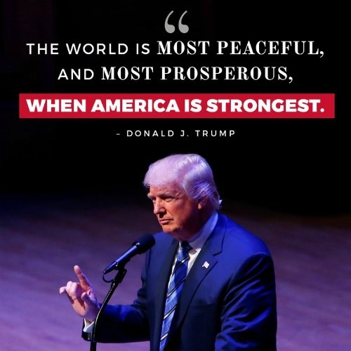 Image result for trump foreign policy quotes