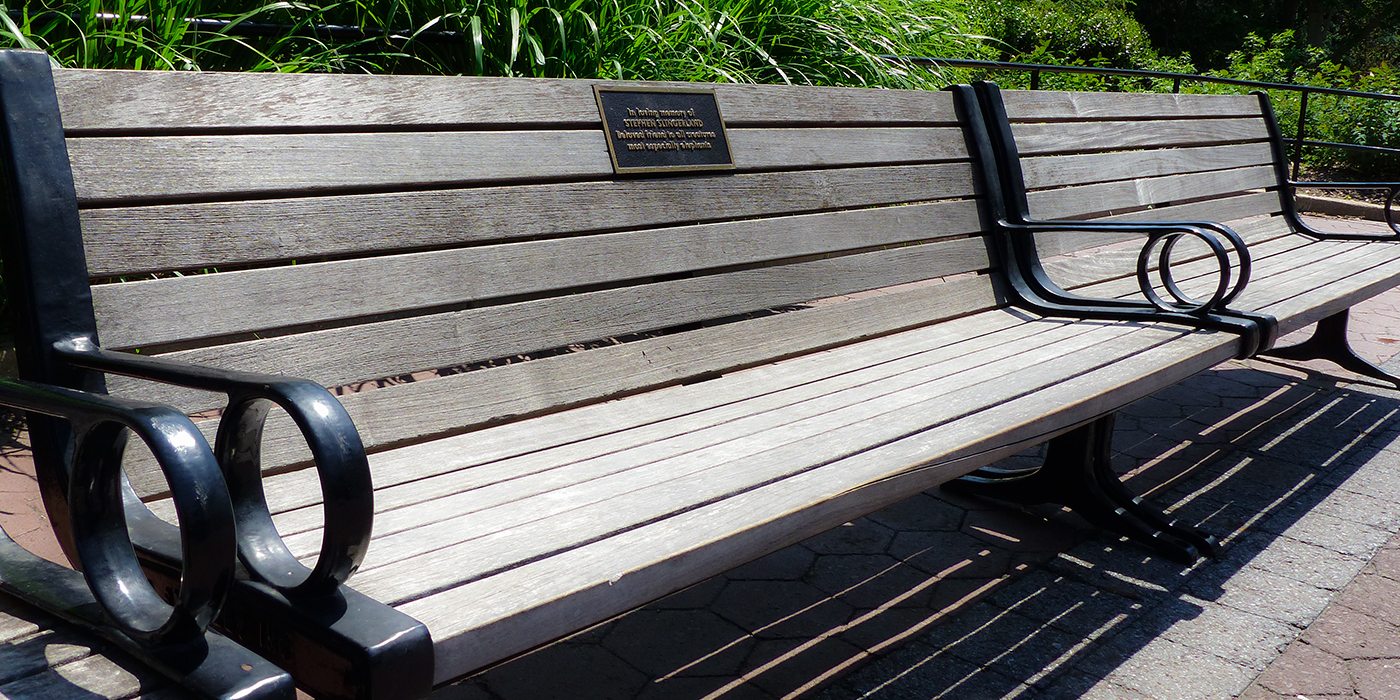 commemorative benches smithsonian s