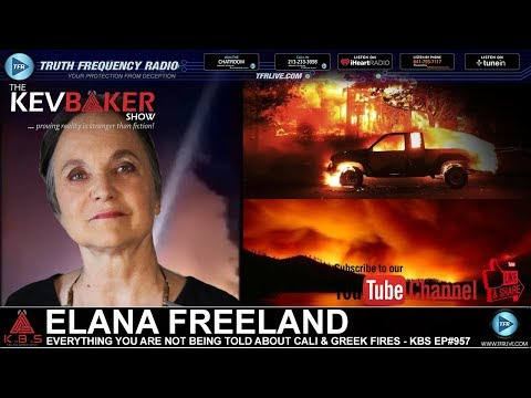 Everything You're Not Being Told About California & Greek Fires (Video)
