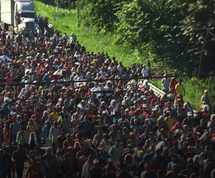 "Shock Claim: The Media Is Reporting That Some In The 2nd Migrant Caravan Have ""Guns"" And ""Bombs"""