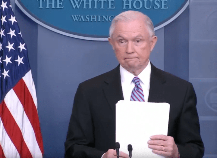 Jeff Sessions out; Matthew Whitaker becomes new acting Attorney General