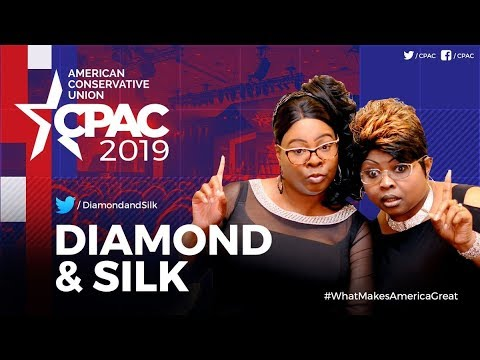 LIVE: Diamond and Silk Speak at #CPAC2019