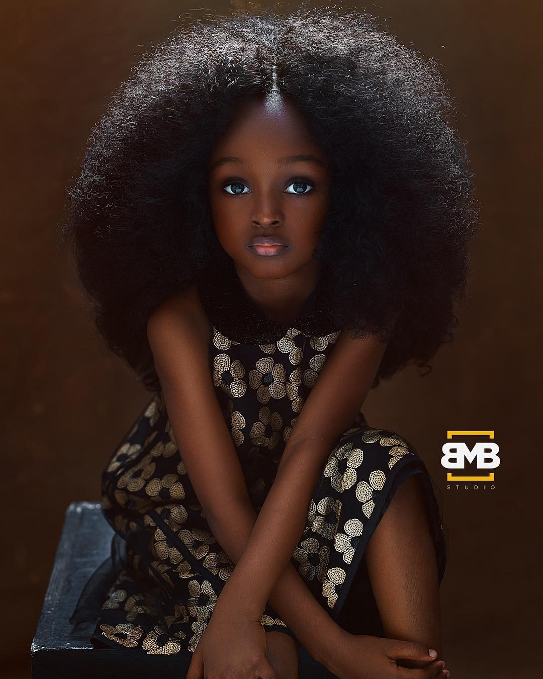 6-Year-Old Nigerian Model Dubbed 'World's Most Beautiful Girl' Has Stormed the Internet