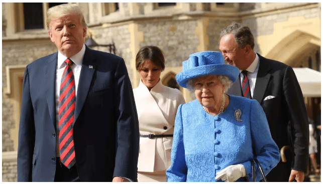 UK spying on Trump in advance of his state visit