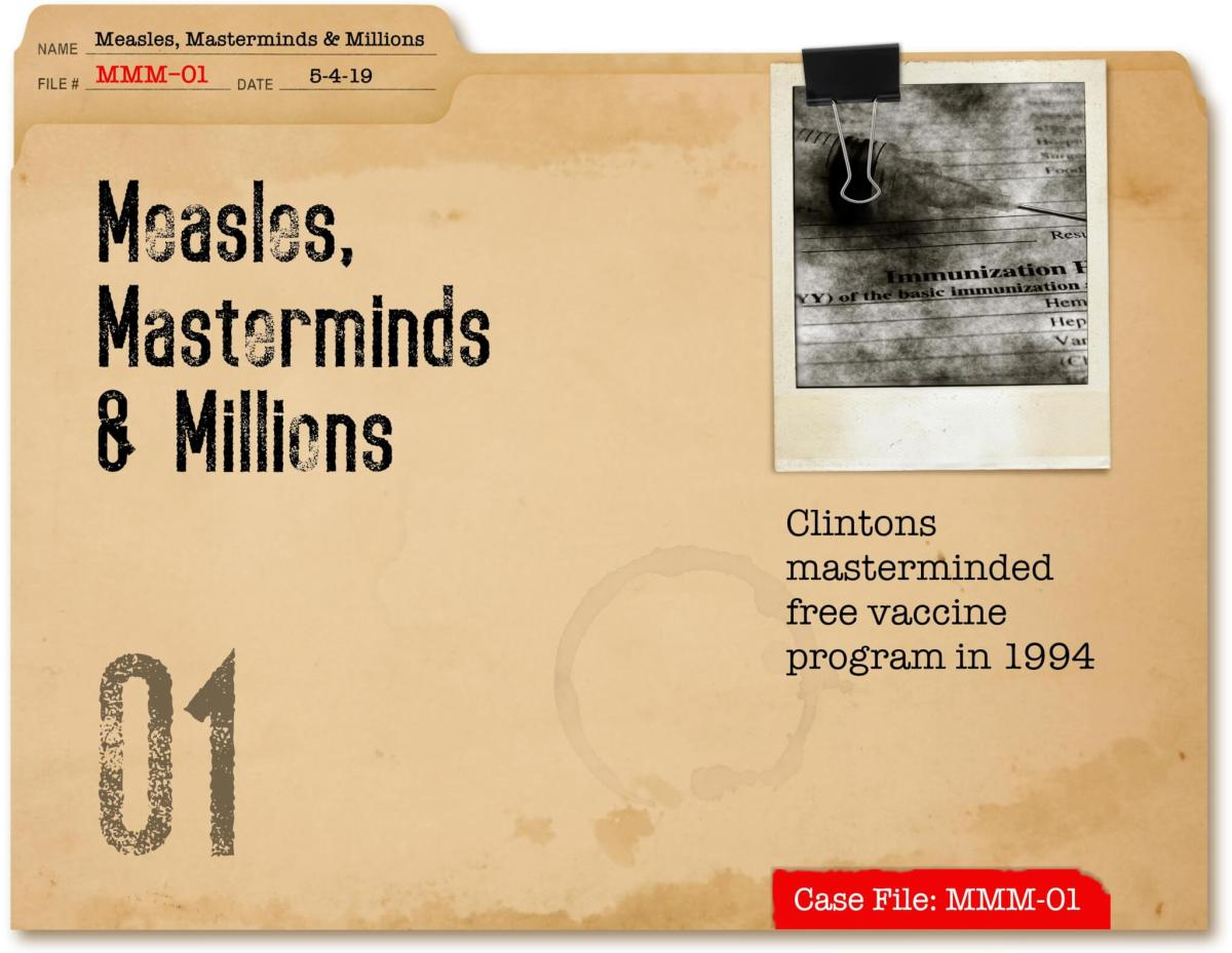 Measles, Masterminds & Millions