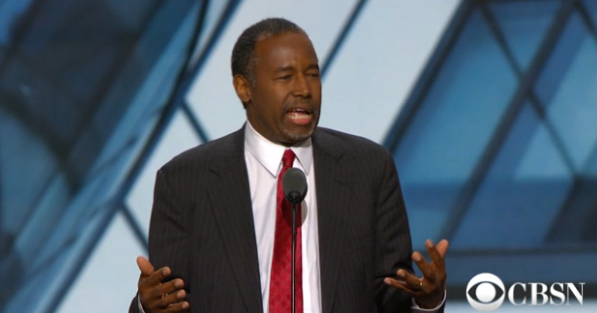Ben Carson Punches Back Against Ilhan Omar Remarks