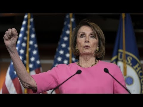 THIS IS TOO RICH! PELOSI QUESTIONS TRUMP'S MENTAL STATE WHILE MUMBLING INCOHERENTLY TO THE PRESS!