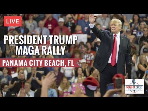 LIVE: PRESIDENT DONALD TRUMP RALLY IN PANAMA CITY BEACH, FL