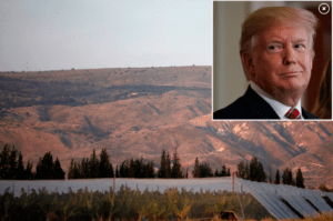 New Golan Heights community to be named after Trump