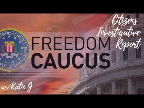 THANK YOU! to the FREEDOM CAUCUS!  PATRIOTS ALL!