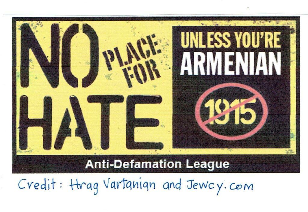 The Phony Anti-Defamation League's Genocide Legislation