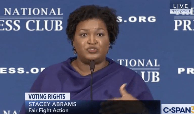 Abrams: 'The Electoral College Is Racist'