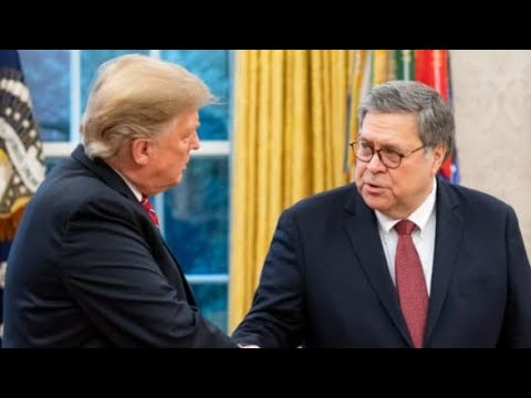 IGNORE MY WRINKLED SHIRT AS I TELL YOU ABOUT THE AG BARR & TRUMP W.H. MEETING THAT JUST TOOK PLACE