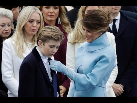 Melania Trump Defends Barron from Impeachment Witness Comments