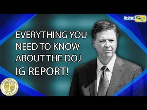 BEST OF 2019: Comey IG Report Shows That President Trump is a Coup Crime Victim!