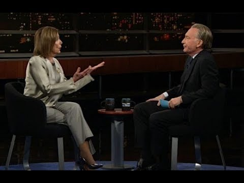Pelosi Gleefully Tells Bill Maher Trump is Impeached Forever Yet Most Voters Oppose Removal