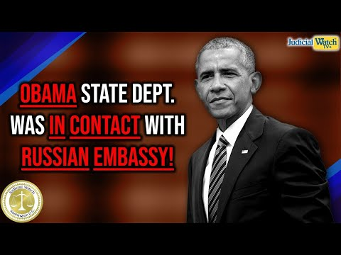 BEST OF 2019: Docs Reveal Obama State Dept In Contact w/ Russian Embassy Prior to Trump Inauguration