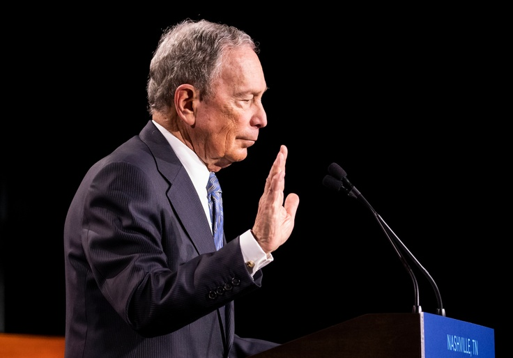 Bloomberg Once Called Excessive Spending on Campaign Ads 'Obscene'