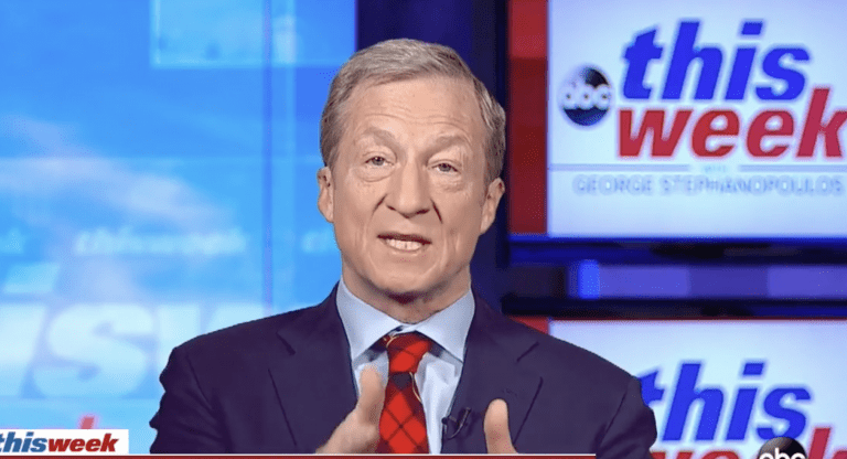 Steyer Frustrated by Poll Showing High Economic Satisfaction