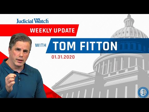 Tom Fitton: Special Trump Impeachment Update, JW Sues on Biden/Burisma Scandal & More!