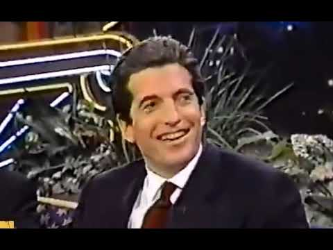 JFK Jr. Reads Monica Lewinsky's poem about being a Pizza with Jay Leno and Jerry Seinfeld